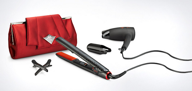 ghd scarlet collection set