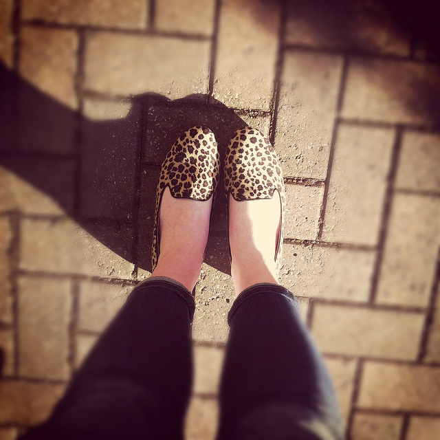 leopard print brogues fashion blogger