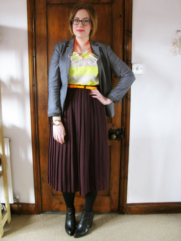 how to wear charity shop clothing