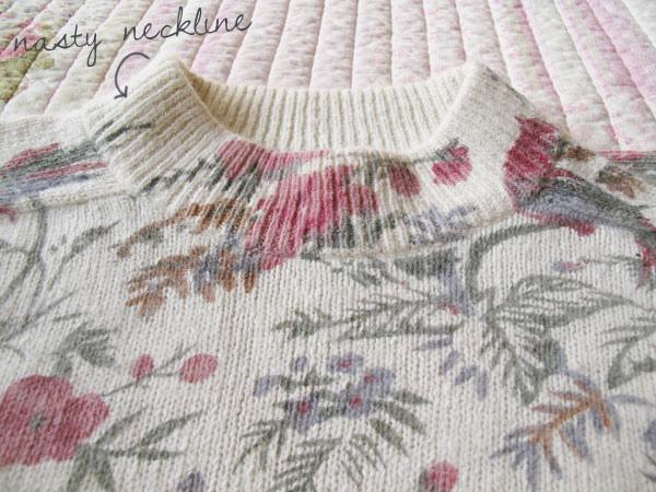 DIY studded jumper how to make