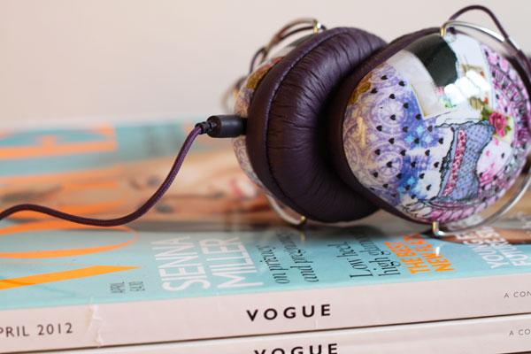 womens fashion headphones