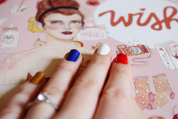olympic nails tutorial blog post