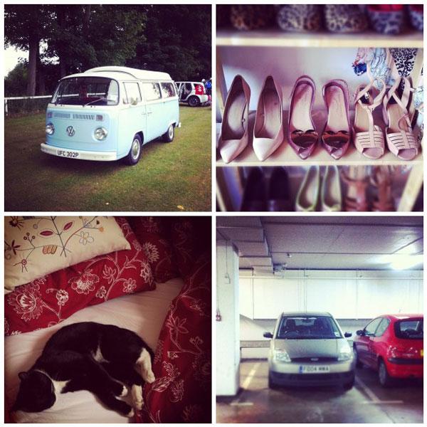 fashion blog instagram collage