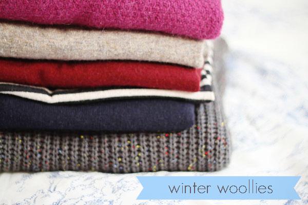 stylish winter knitwear