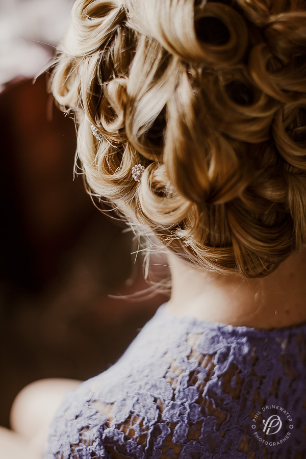 vintage wedding hair and makeup