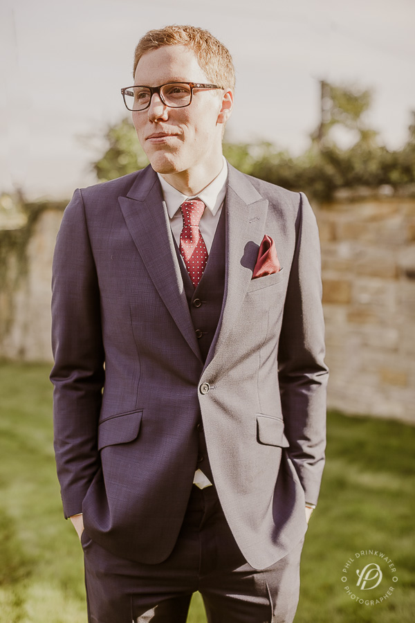 vintage grooms suit wedding
