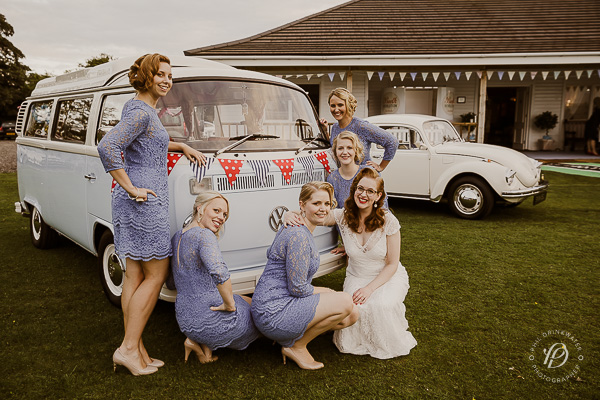 vintage VW campervan wedding