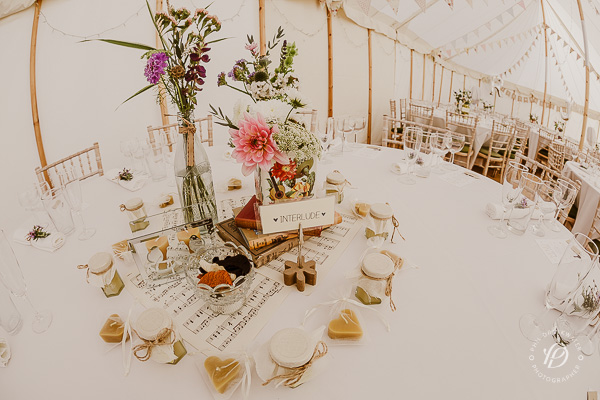 vintage wedding styling yorkshire