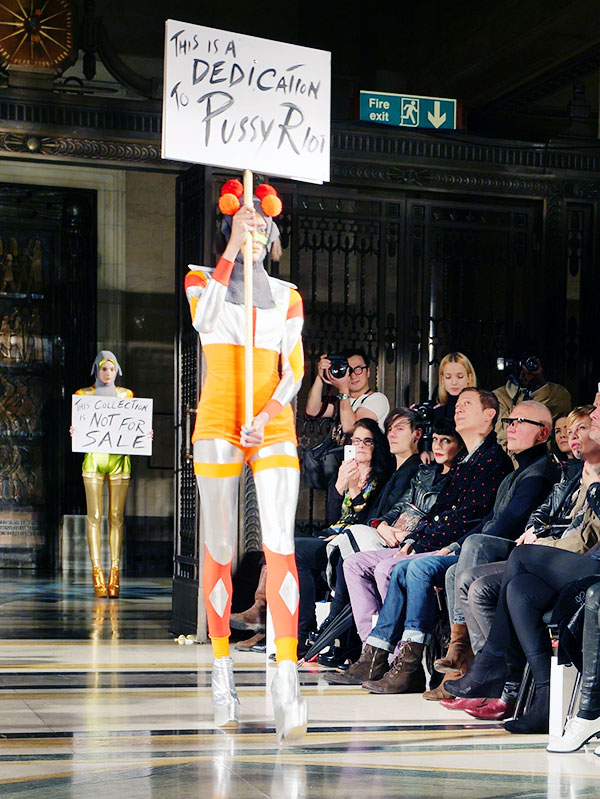 pam hogg aw14 london fashion week