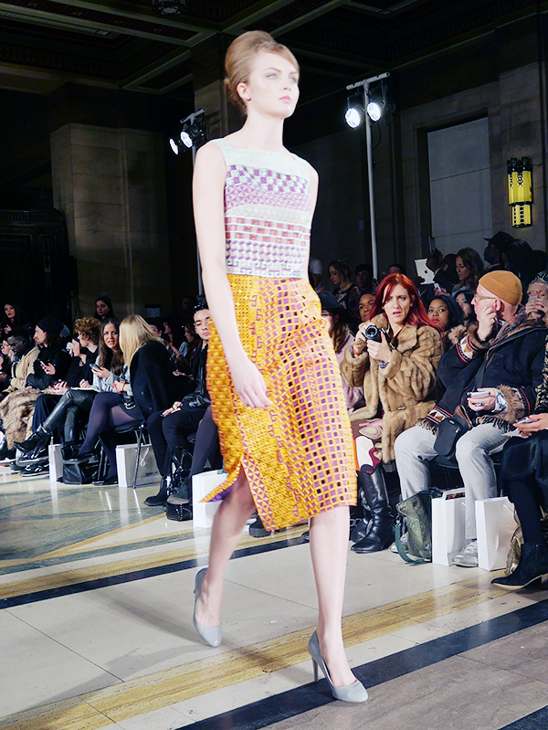 mimi fasi AW14 london fashion week
