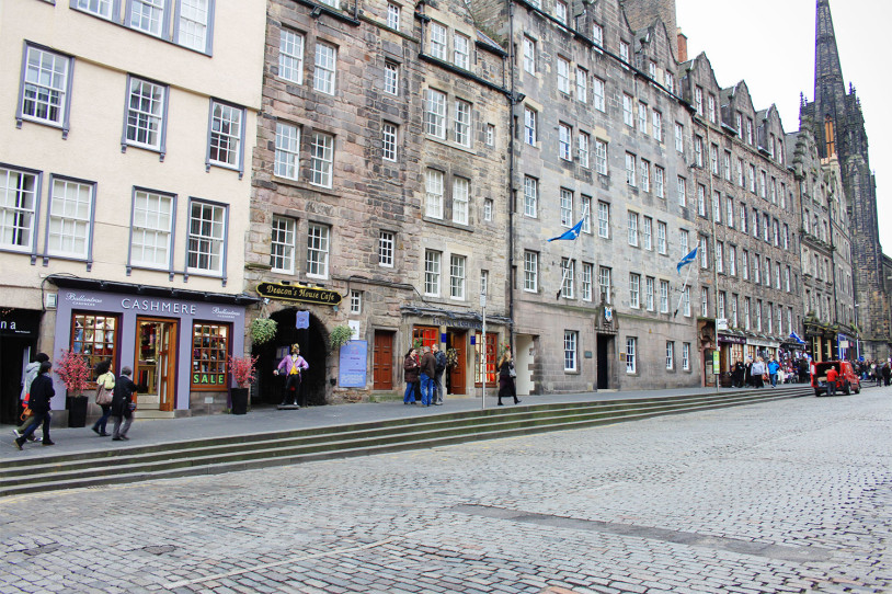 where to go in edinburgh