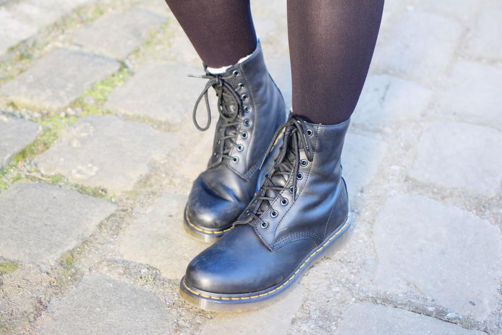 worn in doc martens